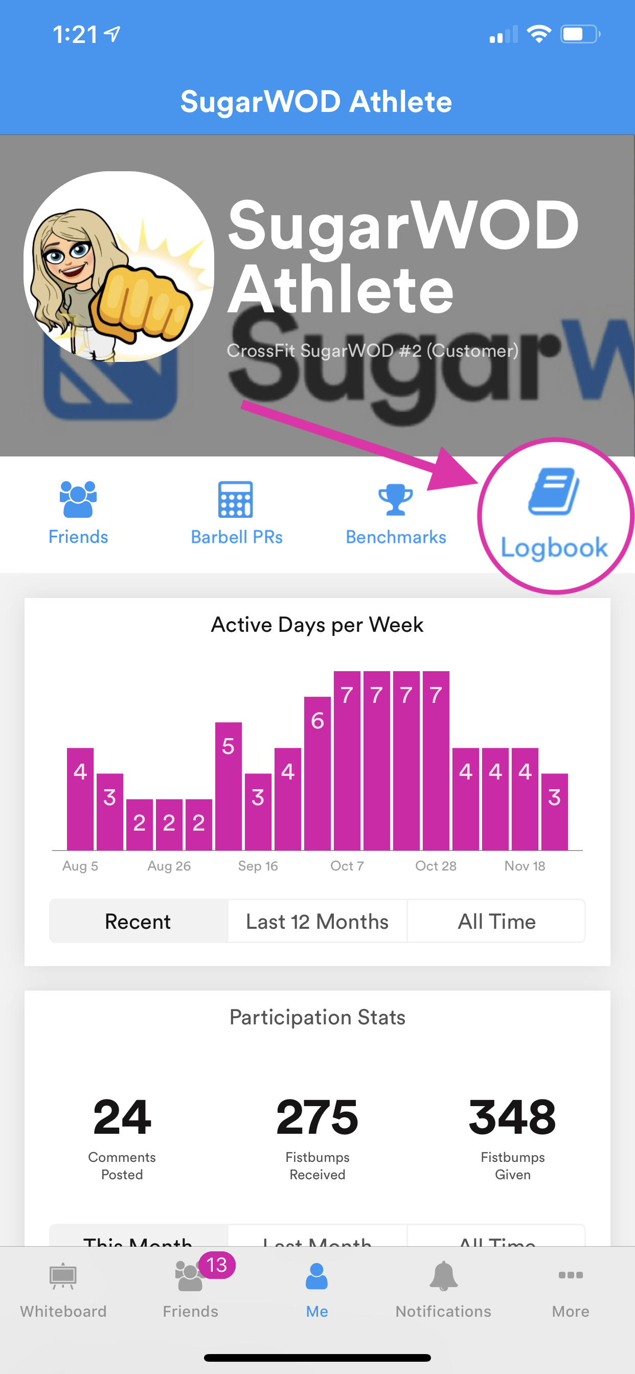 How to: Log a personal workout to my Logbook – SugarWOD